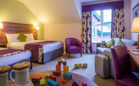Hotel Family Room in Galway