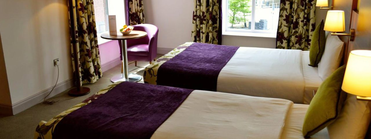 Twin Room Hotel Accommodation in Galway