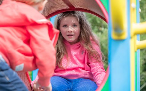 Childrens playground in Galway hotel