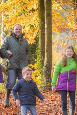 Family activities in Galway woodland walks
