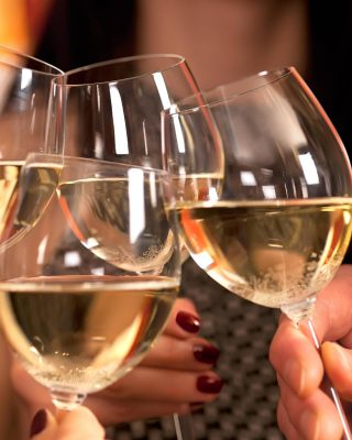 Guests enjoying a glass of wine at Maldron Hotel Oranmore